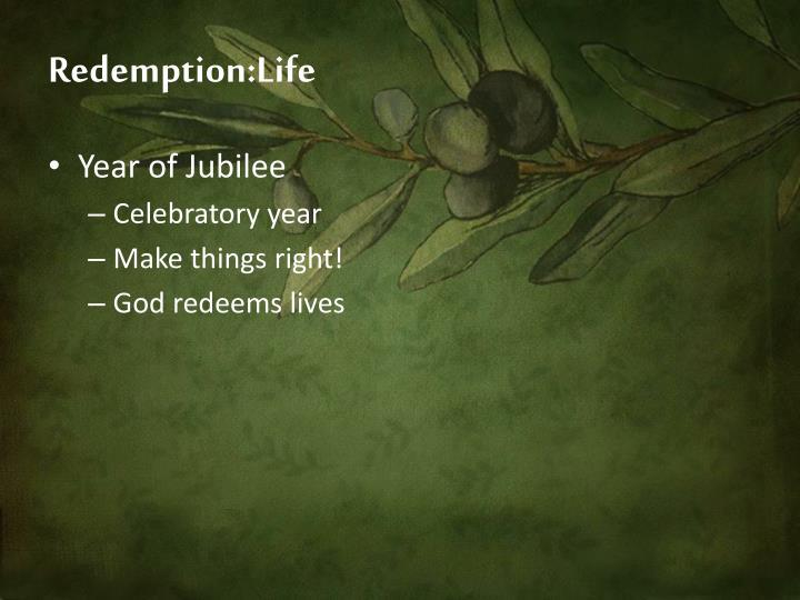Redemption:Life