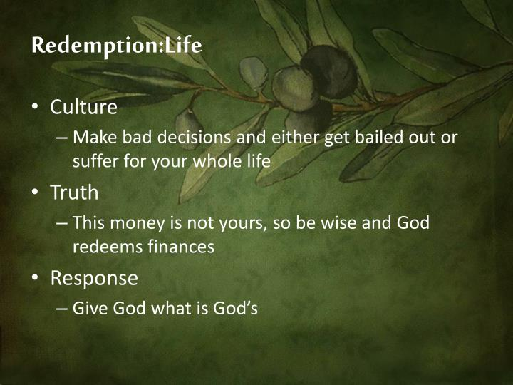 Redemption:Life