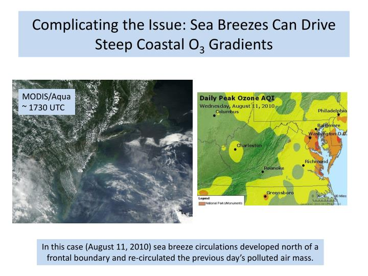 Complicating the Issue: Sea Breezes Can Drive Steep Coastal O
