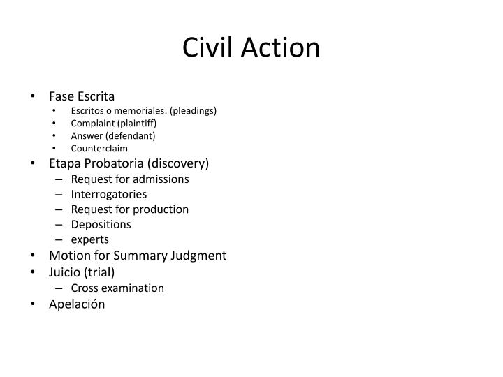 Civil Action