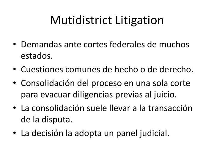 Mutidistrict