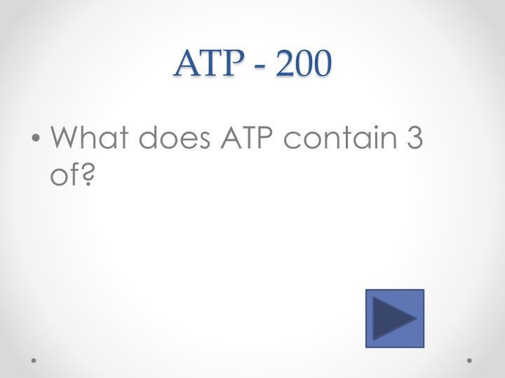 ATP - 200