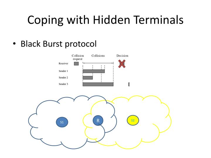 Coping with Hidden Terminals