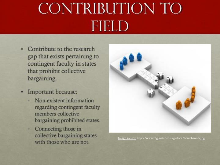 Contribution to field