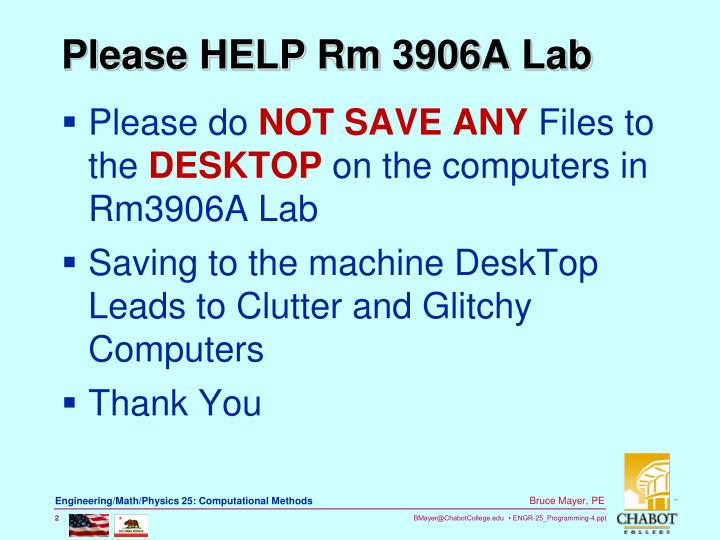 Please help rm 3906a lab