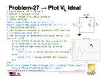 problem 27 plot v l ideal