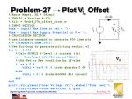 problem 27 plot v l offset