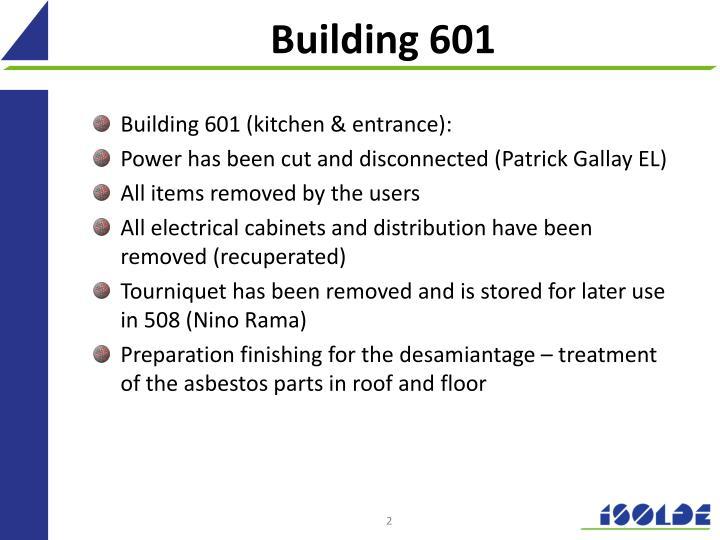 Building 601