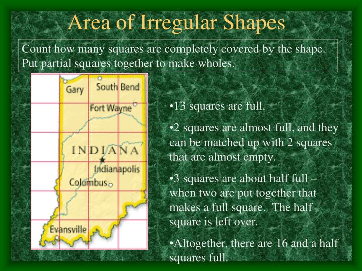 Area of Irregular Shapes