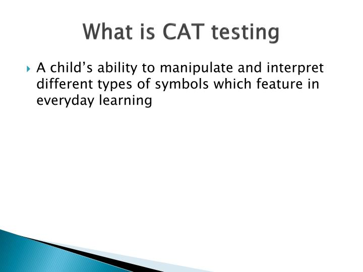 What is CAT testing