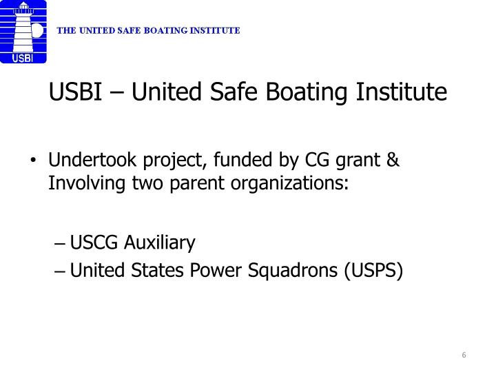 USBI – United Safe Boating Institute