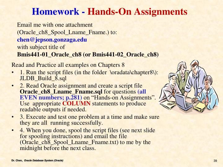 Homework -
