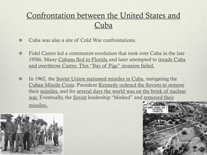 Confrontation between the United States and Cuba