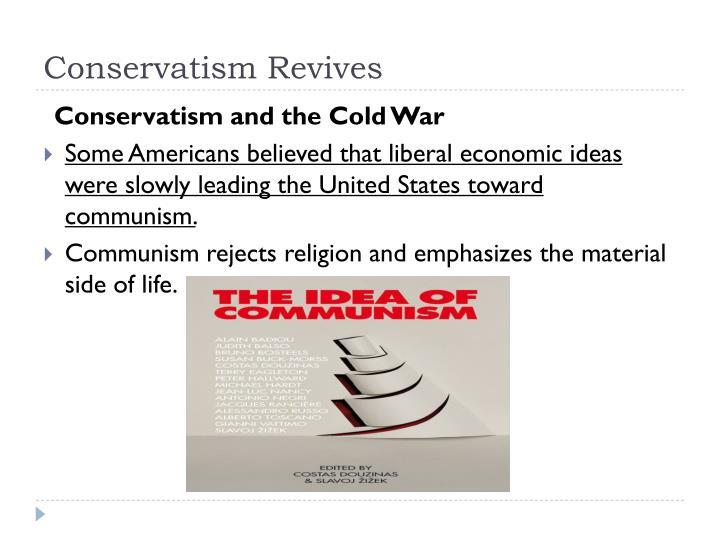 Conservatism Revives