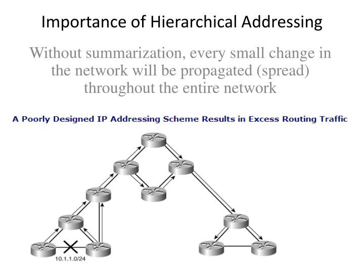 Importance of Hierarchical