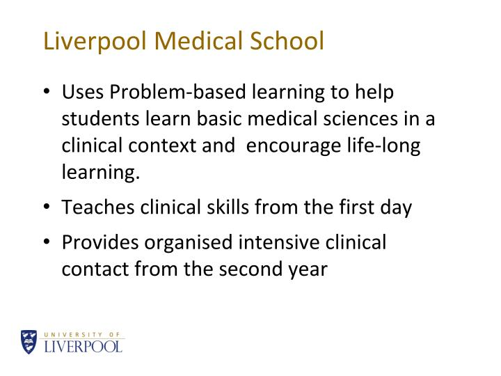 Liverpool Medical School