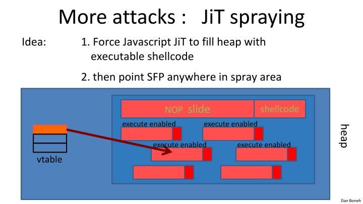 More attacks :