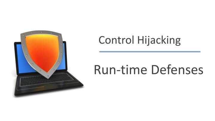 Control Hijacking