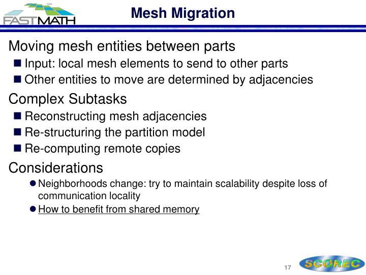 Mesh Migration