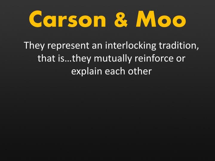 Carson & Moo