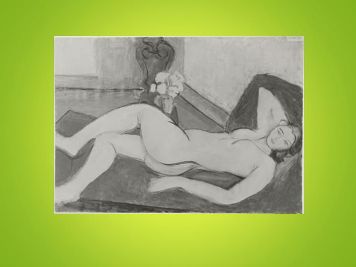 Large reclining nude by henri matisse