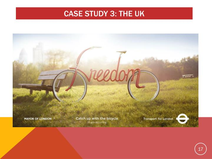 CASE STUDY 3: THE UK