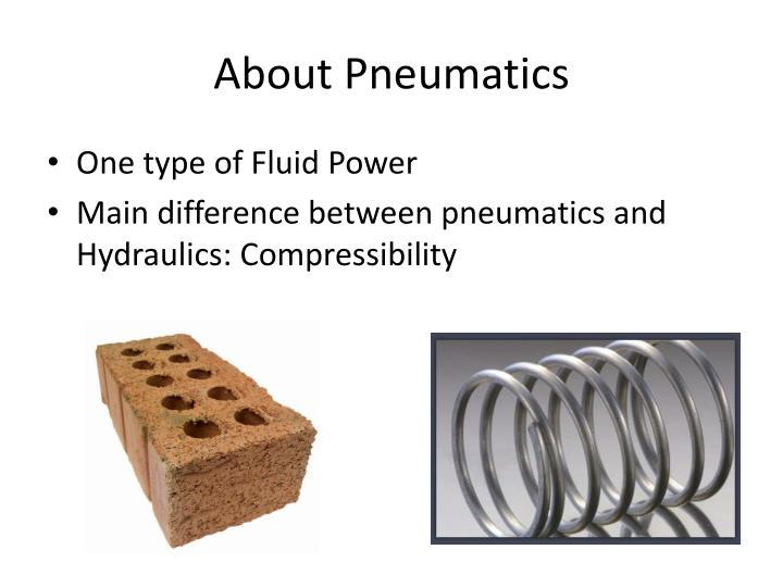 About Pneumatics