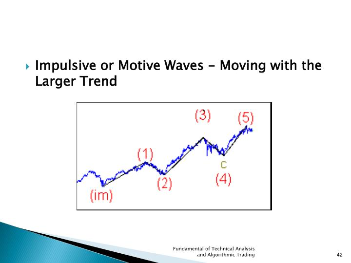 Impulsive or Motive Waves - Moving with the Larger Trend