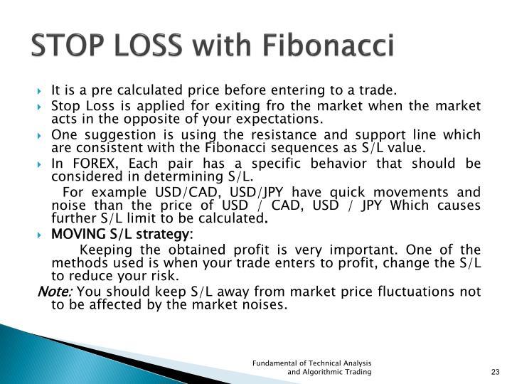 STOP LOSS with Fibonacci