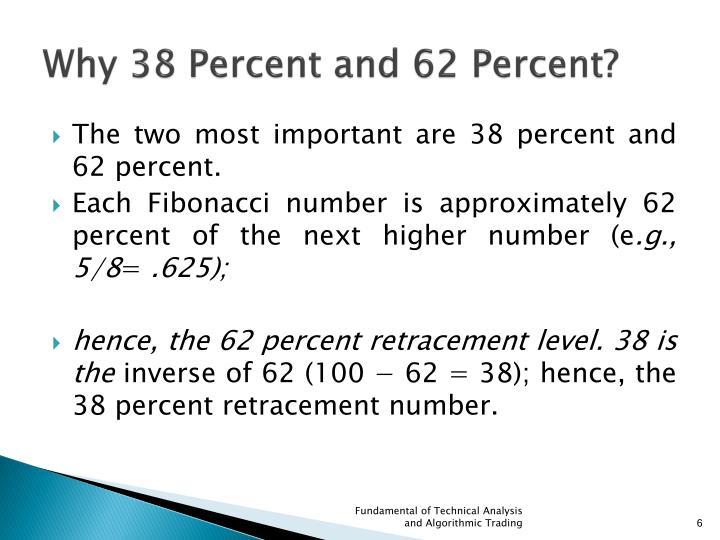 Why 38 Percent and 62 Percent?