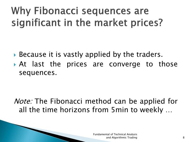 Why Fibonacci sequences are significant in the market prices?