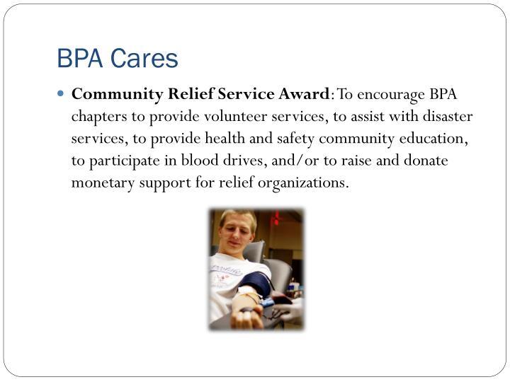 BPA Cares