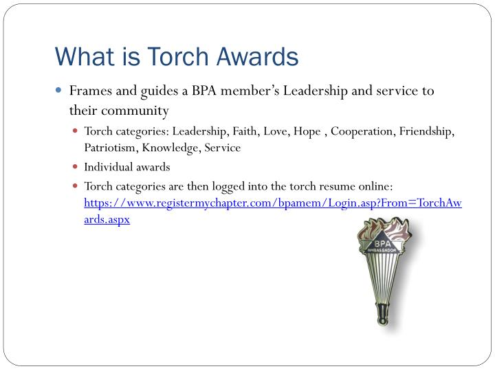 What is Torch Awards
