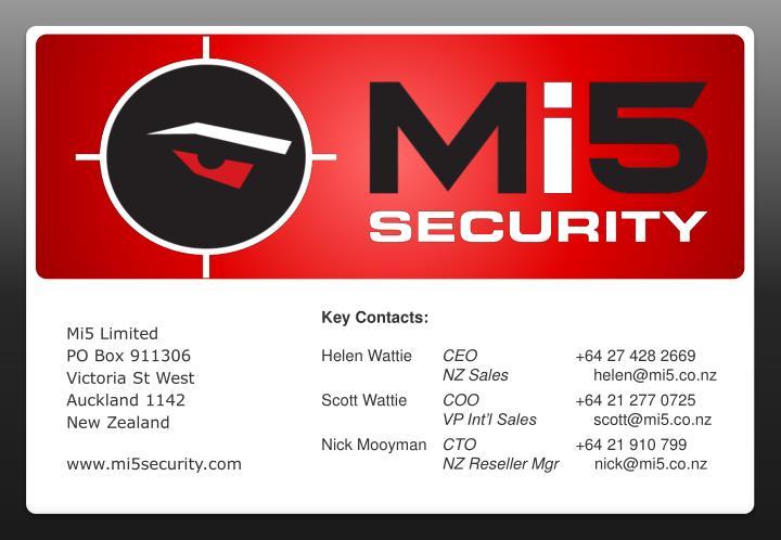 Mi5 Limited
