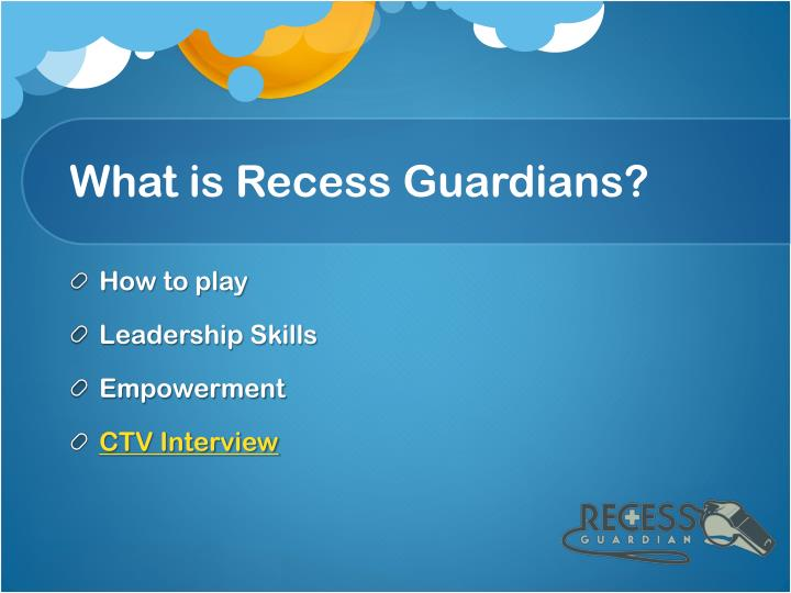 What is Recess Guardians?