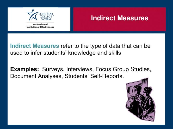 Indirect Measures