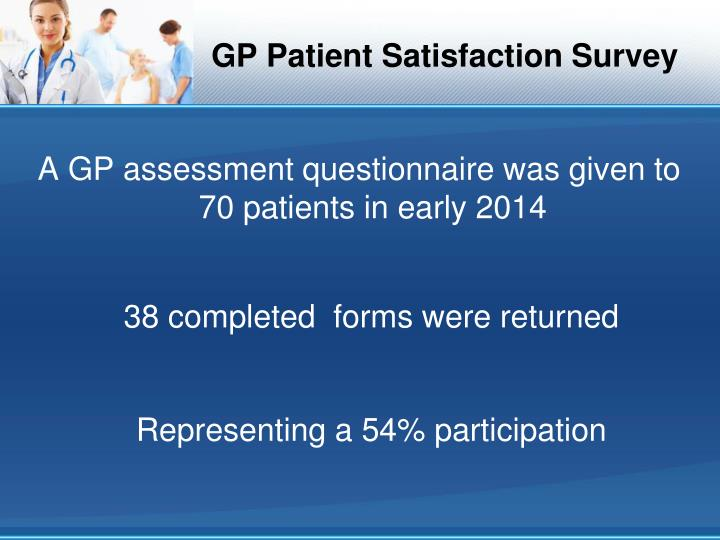 Gp patient satisfaction survey1