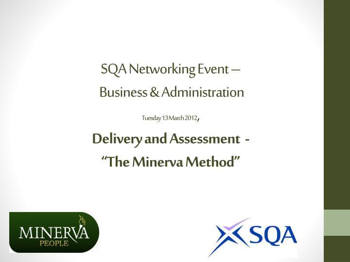 SQA Networking Event –