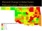 percent change in retail sales february 2010 february 2011