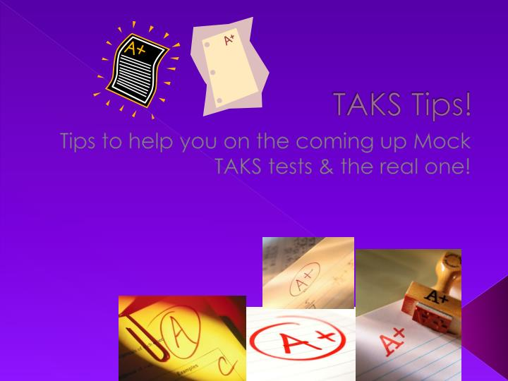 taks test essay information Staar vs taks: texas' new standardized tests come to one school year's worth of information the old taks tests tests will include two kinds of essays.