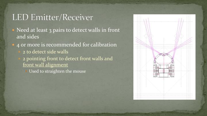 LED Emitter/Receiver
