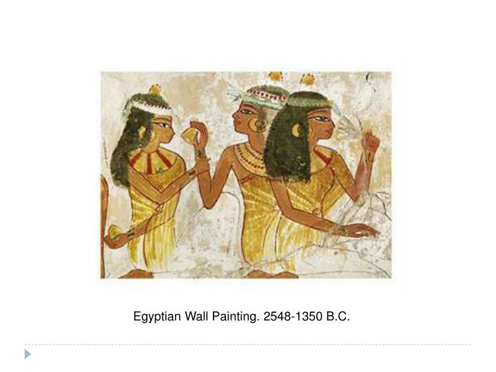 Egyptian Wall Painting.