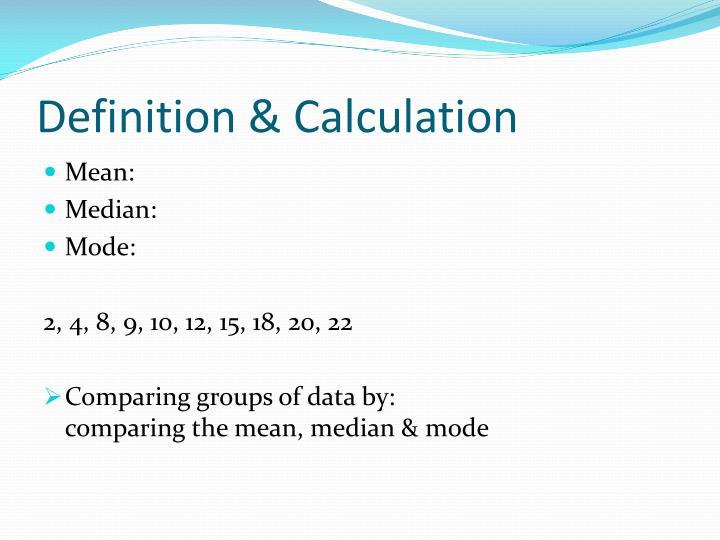 Definition & Calculation