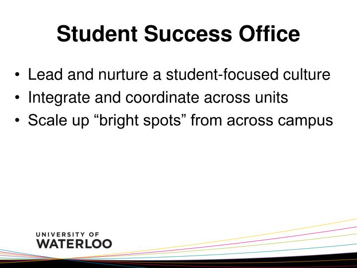Student Success Office