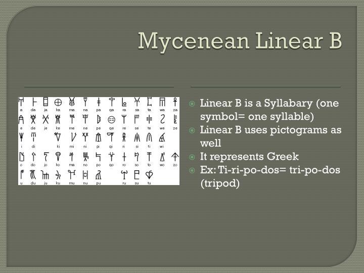 Mycenean