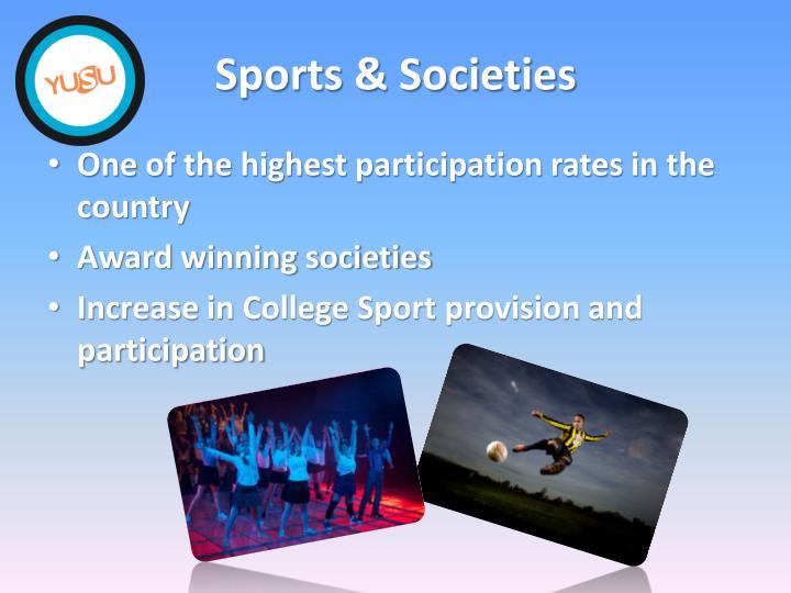 Sports & Societies