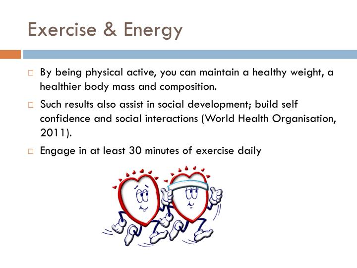 Exercise & Energy