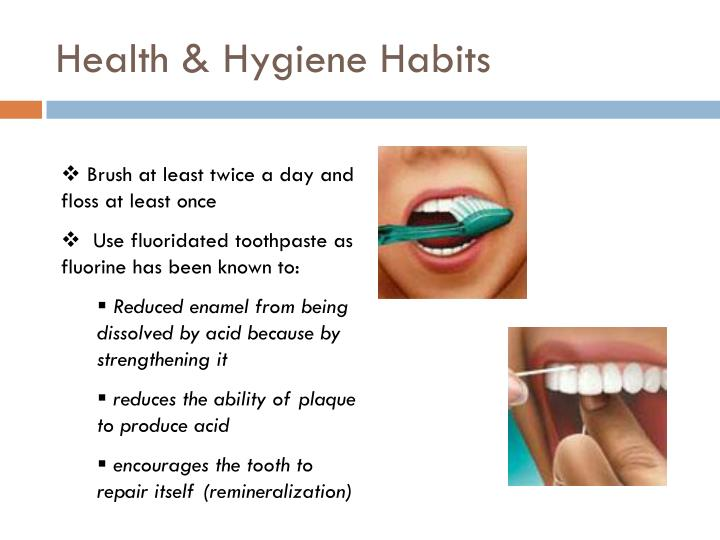 Health & Hygiene Habits