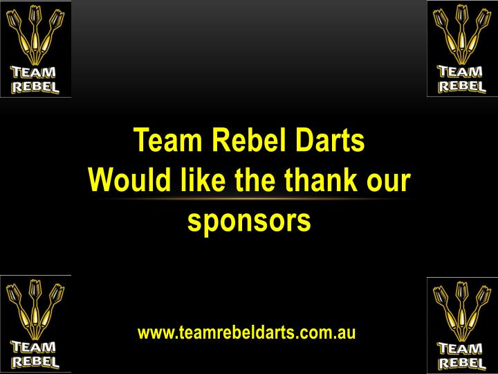 Team Rebel Darts