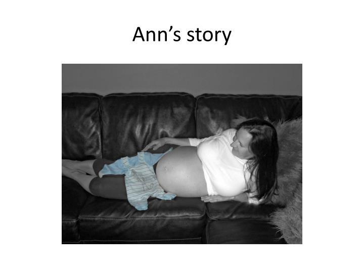 Ann's story